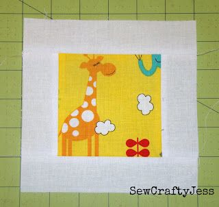 Jungle path baby quilttutorial on the moda bake shop http www