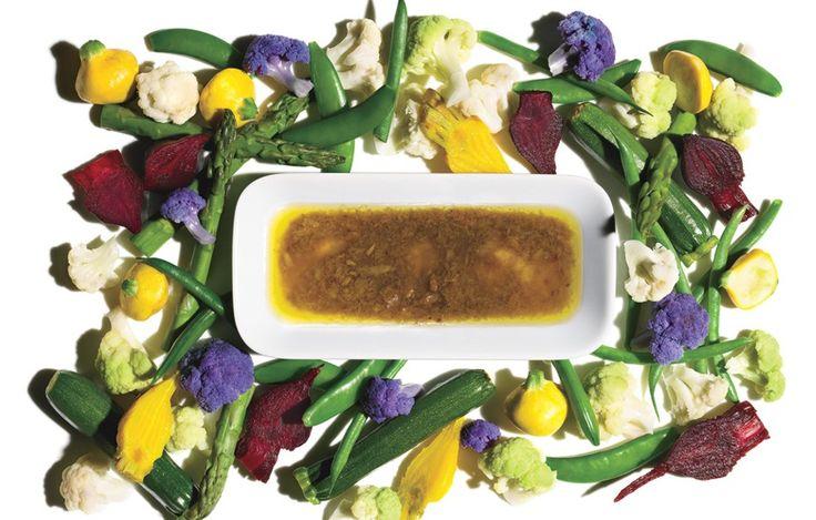 Bagna Cauda Dip with Assorted Vegetables - Bon Appétit