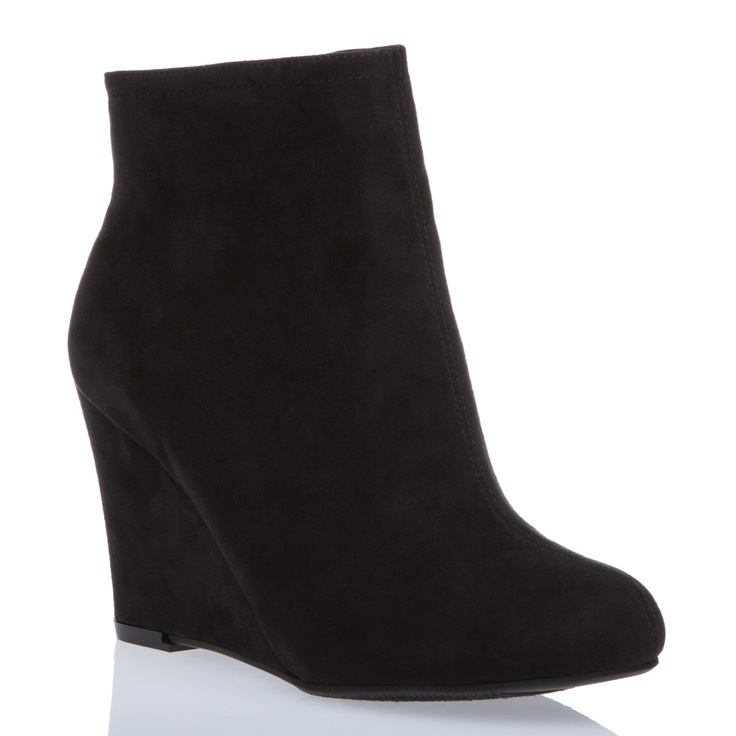 black wedge bootie so many shoes
