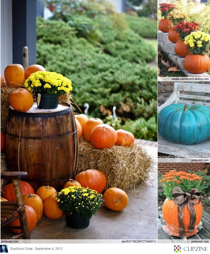 Fall Decorating Ideas Autumn Pinterest