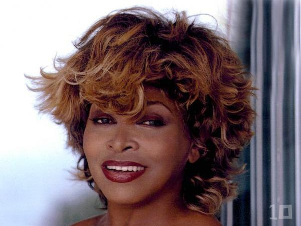 toddler boy long hairstyles : Tina Turners famous tousled hair... Tina Pinterest