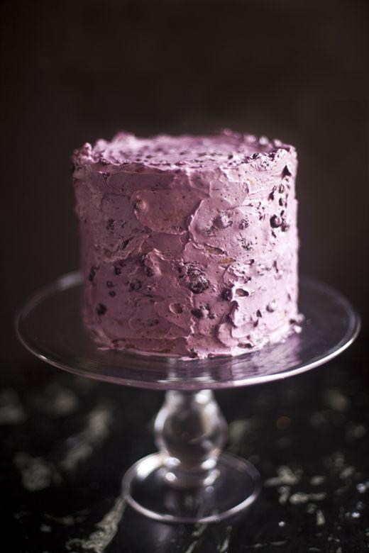 Blueberry Cake | ZoeBakes