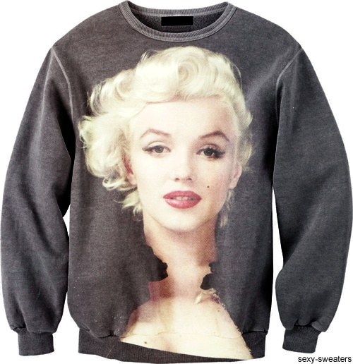 Marilyn Monroe Sweater http://sexy-sweaters.tumblr.com/ - Style ...