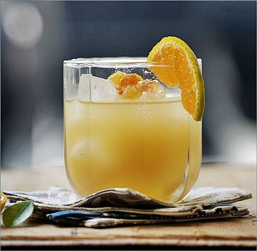 ... Cocktails via passionateaboutbaking: Made with bitter orange marmalade