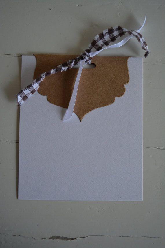 Wedding Favor Bag Toppers : ... favor bags, DIY wedding invitation, elegant bag topper, party favors