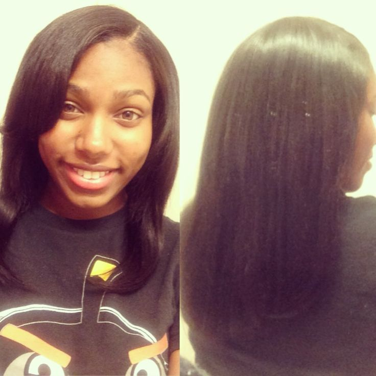Partial sew-in :)