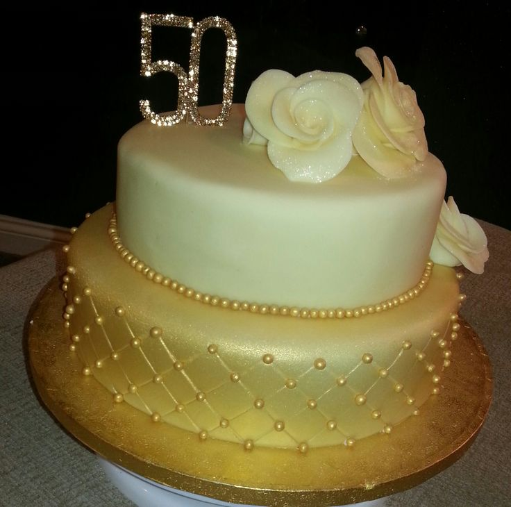 Images Of Cake For 50th Birthday : 50th Birthday cake Projects to Try Pinterest