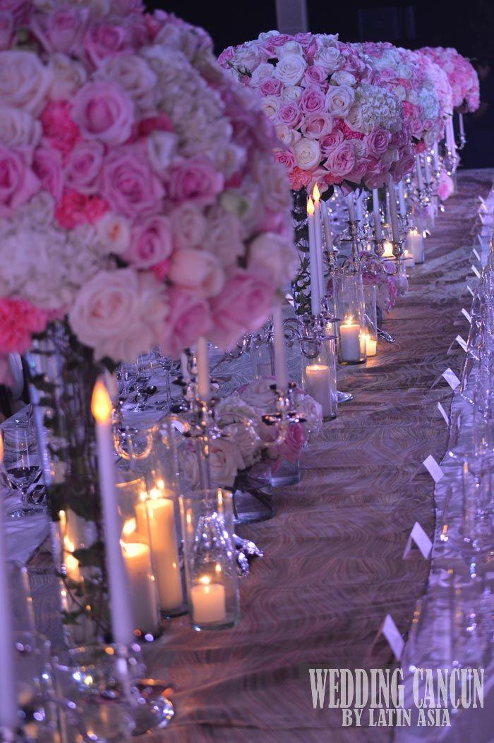 #deluxe tall #centerpiece #decor #wedddingcancun by #latinasia