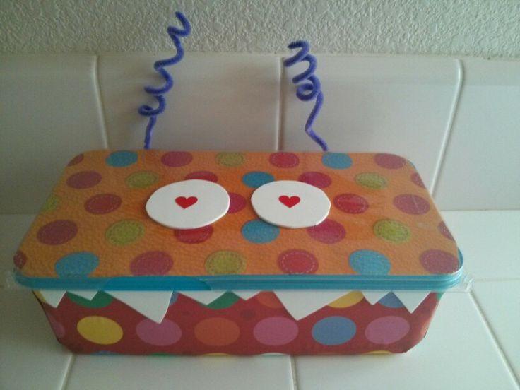 valentine's day holder craft