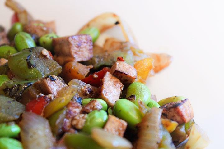 quick tofu stir fry | yuuhm | Pinterest