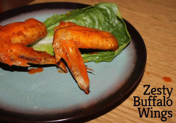 Zesty Buffalo Wings! Amazing flavor and super simple!