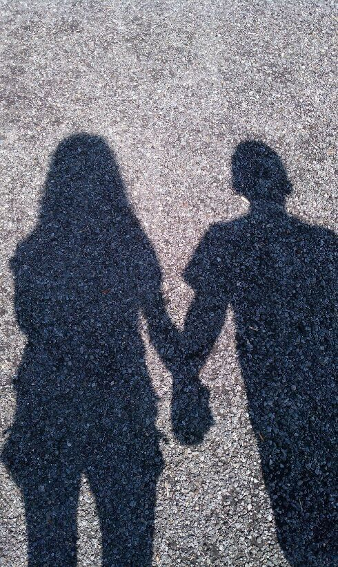 #shadow #couple   Canvas painting   Pinterest