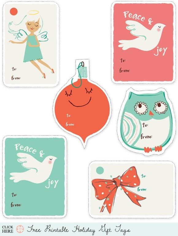 Printable Christmas tags :) | Graphics/printables | Pinterest
