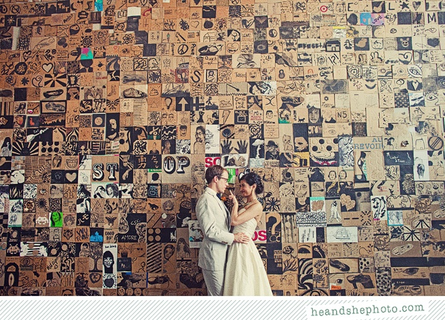 where do people find walls like this?! photo by he&she photography