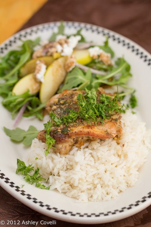 Chicken with Herb-Mustard Pan Sauce | Dinner Recipes | Pinterest