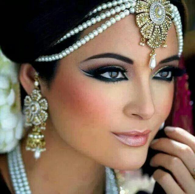 Exotic Wedding Makeup : Exotic wedding look Wonderful Wedding Ideas Pinterest