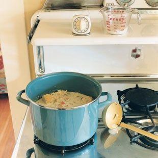 Recipe Review: Dorie Greenspan's Summer Corn Soup