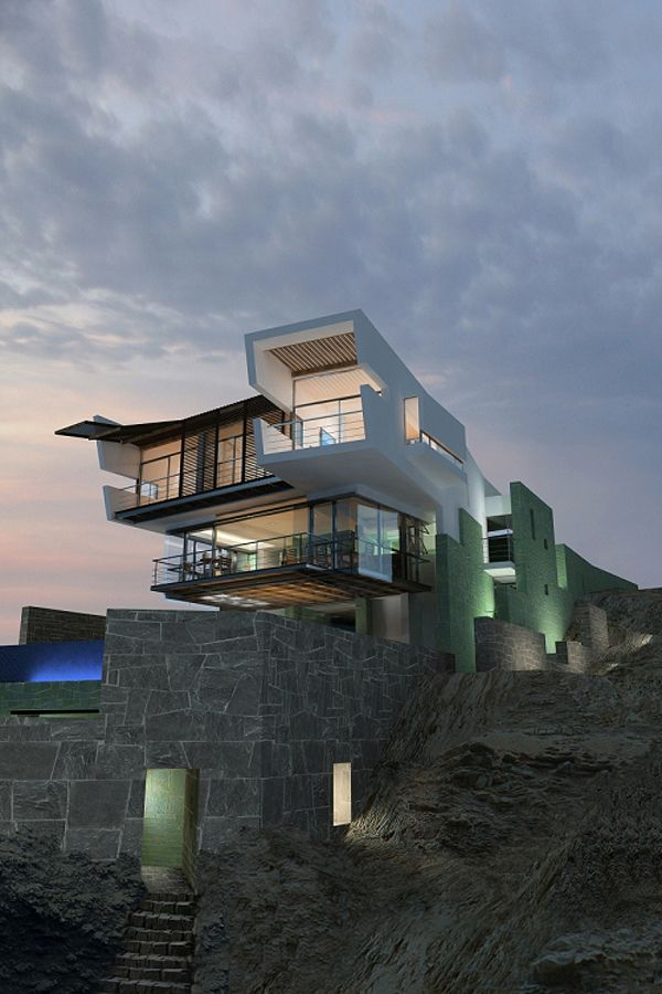 Modern Day Castle Architecture Residential Pinterest