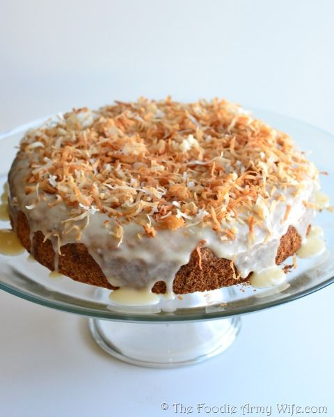 Coconut Rum Cake - cake & alcohol are two of my favorite things!