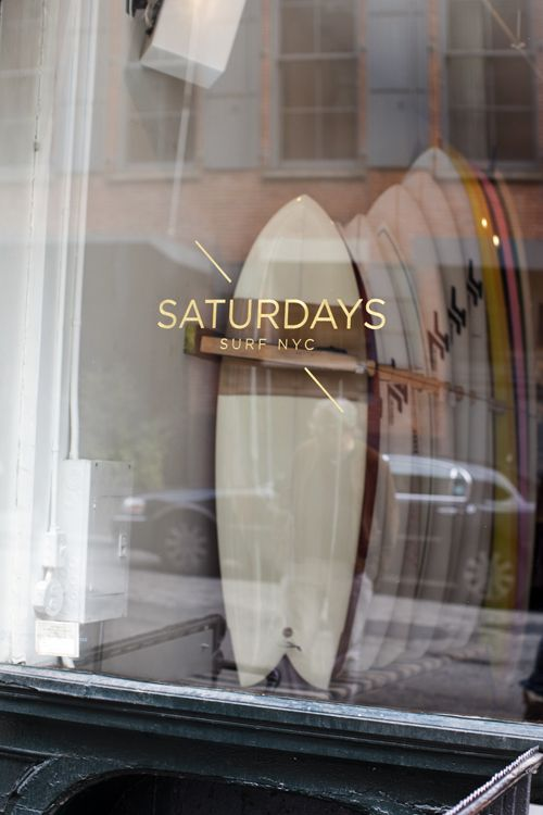 Saturdays Surf Logo