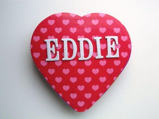 valentine day box candy