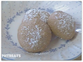 whole wheat almond balls (like Mexican Wedding Cookies, but with WW ...