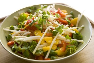 Raw Jicama Salad | food :) | Pinterest