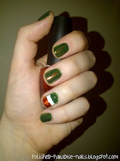 Super cute and easy St. Patricks Day nail designs!