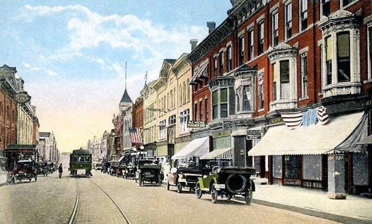 1920's Postcard, Gloversville, NY | Fulton Co. NY | Pinterest