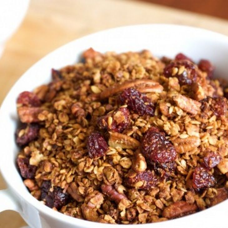 Cherry Pecan Granola Recipe | Food and such | Pinterest