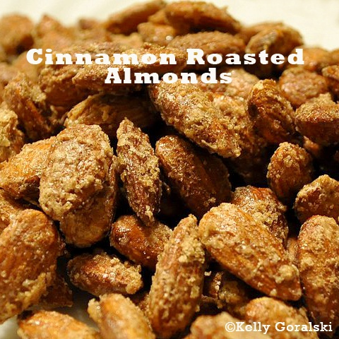 Cinnamon Roasted Almonds | Home Cooked by Me | Pinterest