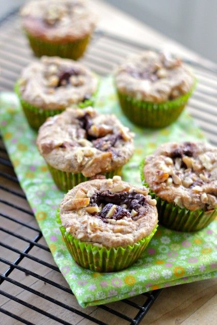 Eat Good 4 Life » Skinny Nutella and Walnut breakfast muffins - Just ...