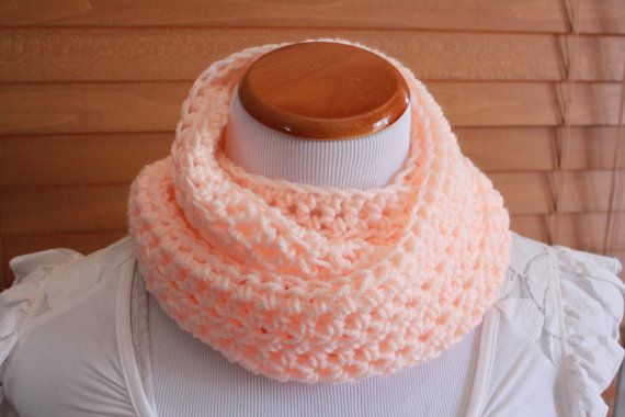 Crochet Infinity Scarf Pattern For Child : CROCHET PATTERN Child - Adult Infinity Scarf and Bow ...