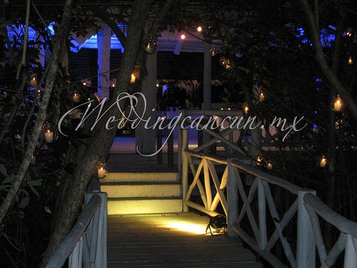 #illumination #wedding #decor at #banyantree #mayakoba