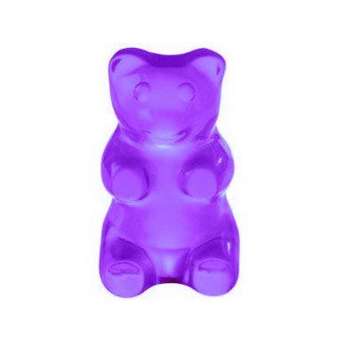 Purple gummy bears