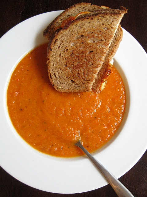 Roasted Red Pepper and Sweet Potato Soup | Food - Soups & Salads | Pi ...