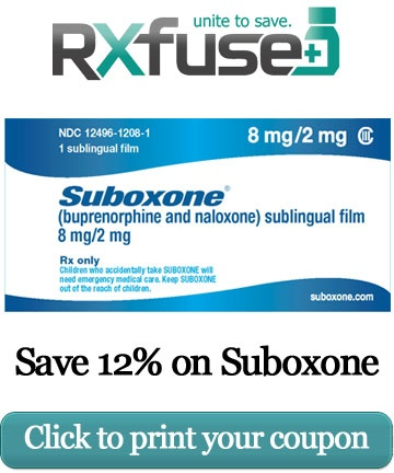 Suboxone coupon tablet