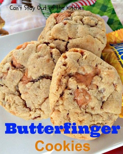 Butterfinger Cookies Recipe — Dishmaps
