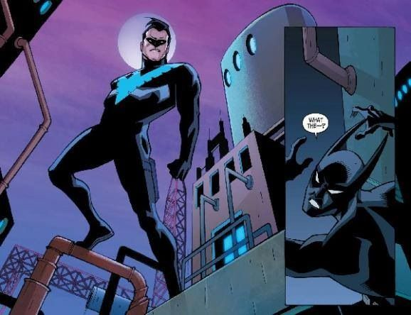 Nightwing and Batman Beyond. | Heroes | Pinterest