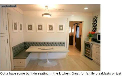 Built in seating | Living room | Pinterest