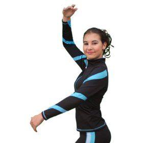 Chloe Noel J36 Spiral Skate Jacket - Child Medium Blk/Purple $59.99
