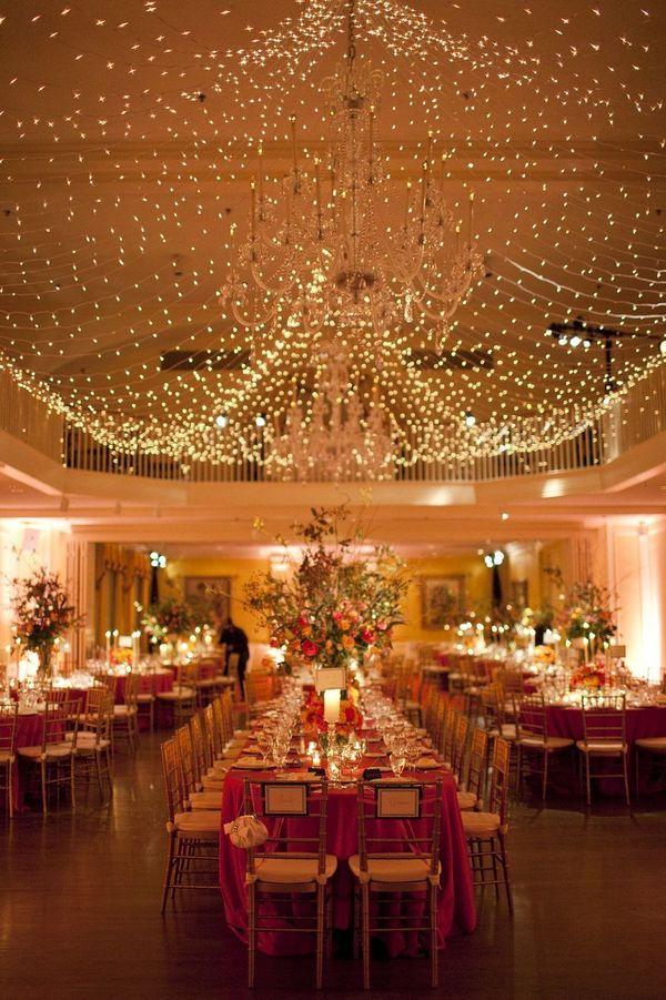 beautiful reception decor.