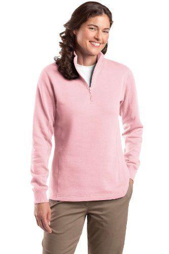 Sport-Tek - Ladies 1/4-Zip Sweatshirt. Sport-Tek. $26.78