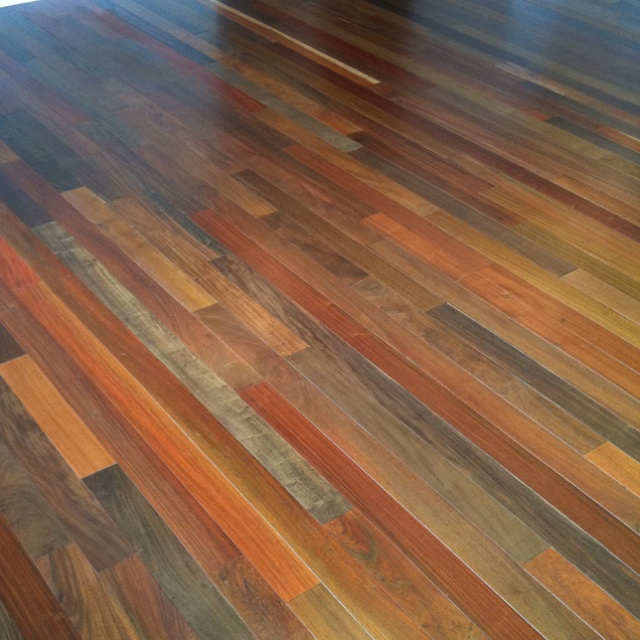 Brazilian walnut floors randomness that inspires pinterest for Walnut flooring