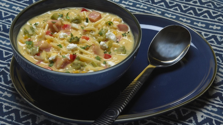 Cheddar & Corn Chowder | Eats-Soups | Pinterest