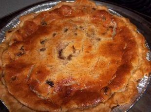Sour Cream Raisen Pie (Circa 1950) Recipe