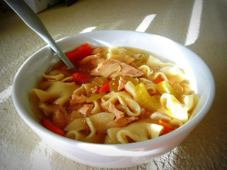 Simple Chicken Noodle Soup | Recipes to Make Again | Pinterest