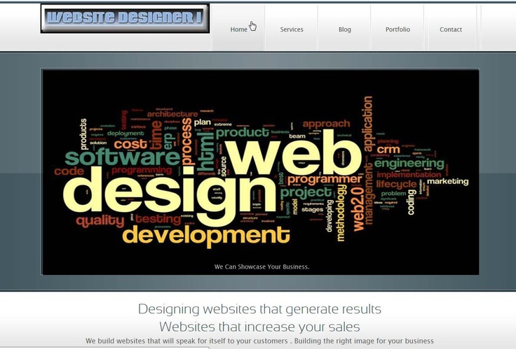 website photo of website designer 1 home page
