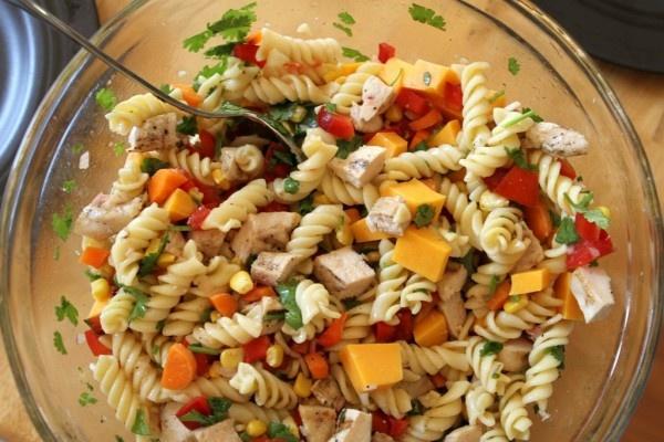 Cilantro chicken pasta salad | CILANTRO!!! | Pinterest