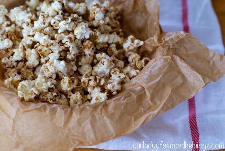 Sugar and Spice Popcorn | Eat me - Sweet | Pinterest